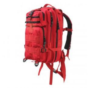 Rothco Medium Transport Pack - Red Left Side Slight Angle View