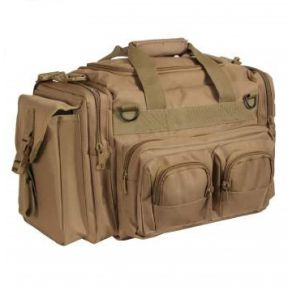 Rothco Concealed Carry Bag - Coyote Brown Right Side Angle View