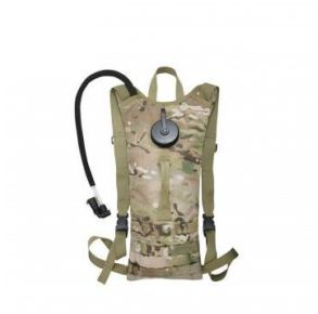 Rothco MOLLE 3 Liter Backstrap Hydration System - MultiCam Front View