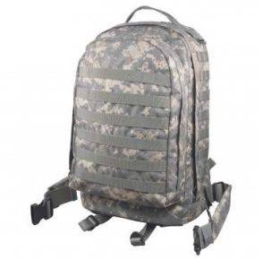 Rothco MOLLE II 3-Day Assault Pack - ACU Digital Camo Front View