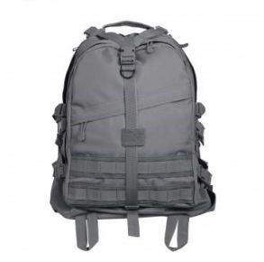 Rothco Large Transport Pack - Gunmetal Gray Front View