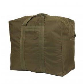 Rothco Enhanced Aviator Kit Bag - Olive Drab Left Side Slight Angle View