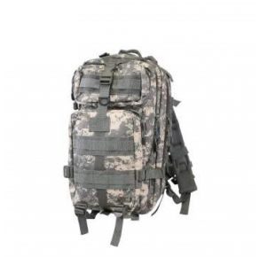 Rothco Camo Medium Transport Pack - ACU Digital Camo Front View