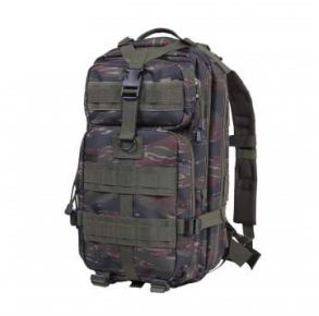 Rothco Camo Medium Transport Pack - Tiger Stripe Camo Left Side Angle View