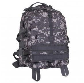 Rothco Large Camo Transport Pack - Subdued Urban Digital Camo Front View