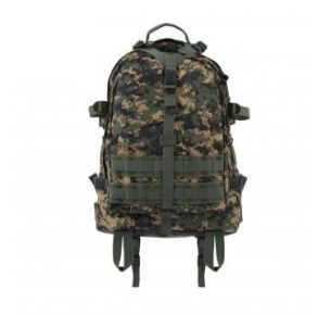 Rothco Large Camo Transport Pack - Woodland Digital Camo Front View