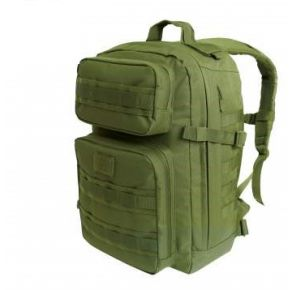 Rothco Fast Mover Tactical Backpack - Olive Drab Left Side Angle View