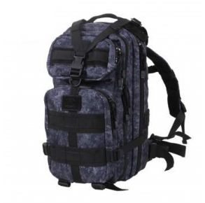 Rothco Camo Medium Transport Pack - Midnight Digital Camo Front View