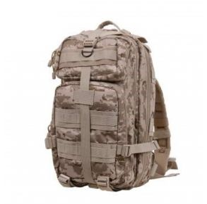 Rothco Camo Medium Transport Pack - Desert Digital Camo Front View