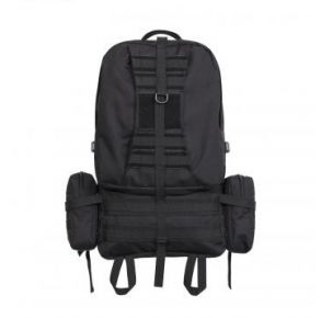 Rothco Global Assault Pack - Black Front View