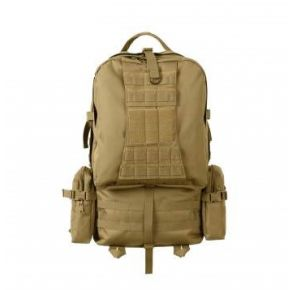 Rothco Global Assault Pack - Coyote Brown Front View