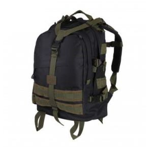 Rothco Large Transport Pack - Black/Olive Drab Left Slight Angle View