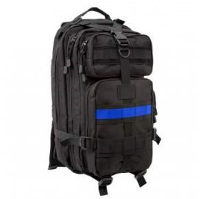 Rothco Thin Blue Line Medium Transport Pack Right Side Angle View
