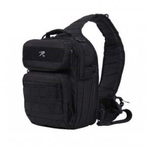 Rothco Compact Tactisling Shoulder Bag Left Angle View
