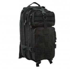 Rothco Medium Transport Pack - Black Right Slight Angele View