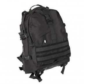 Rothco Large Transport Pack - Black Front View