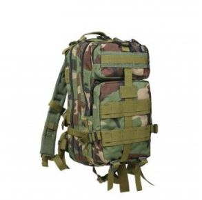 Rothco Camo Medium Transport Pack - Woodland Camo