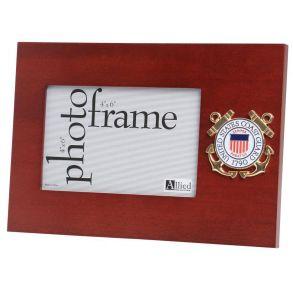 Coast Guard 4x6 Horizontal Mahogany Frame