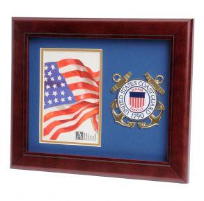 USCG Medallion Portrait Picture Frames