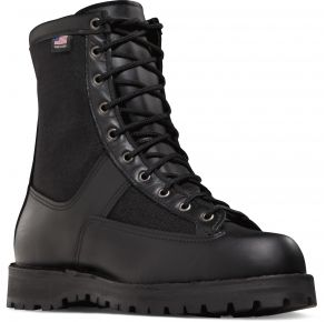 "Danner Mens 8"" Acadia Composite Toe Black Boot Right Side View"
