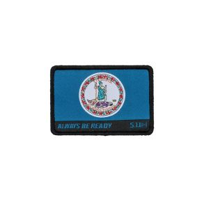5.11 Patch Virginia State Flag