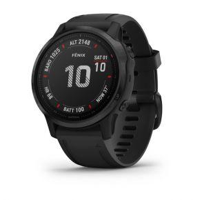 Garmin fēnix 6S - Pro Smartwatch with Black Band Left View