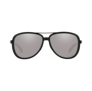 Oakley Womens Split Time Blackside Frame - Prizm Black Lens - Polarized Sunglasses Front View
