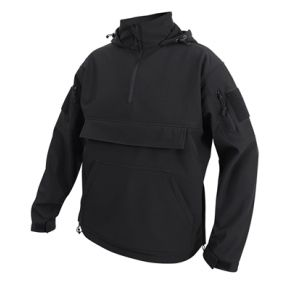 Rothco Concealed Carry Soft Shell Anorak - Size S - XL Front View