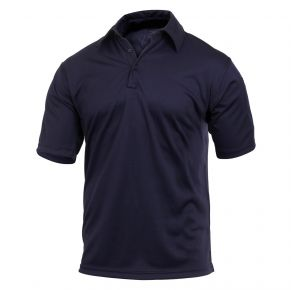 Rothco Tactical Performance Polo Shirt - Midnight Navy Blue  - Size 2XL Front View