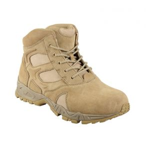 """Rothco Mens 6"""" Forced Entry Deployment Boot Right Side Angle View"""