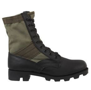 "Rothco Mens 8"" Military Jungle Boot Right Side Angle View"