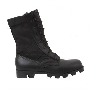 Rothco Mens Black G.I. Type Speedlace Jungle Boot Right Side Angle View