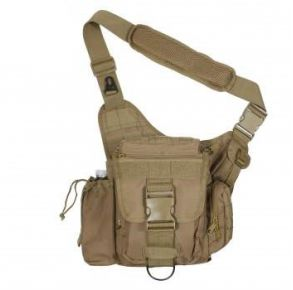 Rothco Advanced Tactical Bag - Coyote Brown Front View