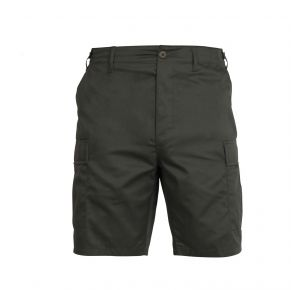 Rothco Mens Tactical BDU Shorts - Olive Drab - Size 3XL Front View