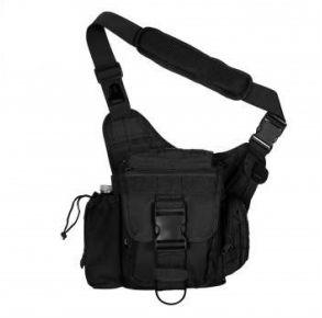 Rothco Advanced Tactical Bag - Black Front View