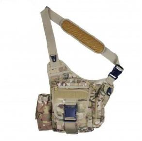 Rothco Advanced Tactical Bag - MultiCam Front View