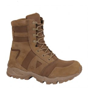 Rothco Mens AR 670-1 Coyote Brown Forced Entry Tactical Boot Right Side Angle View