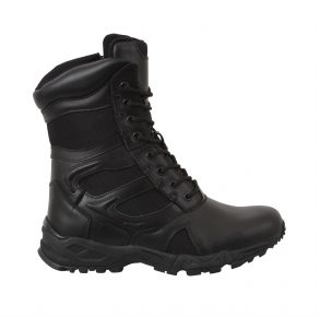 Rothco Mens Forced Entry Deployment Boot With Side Zipper Right Side Angle View