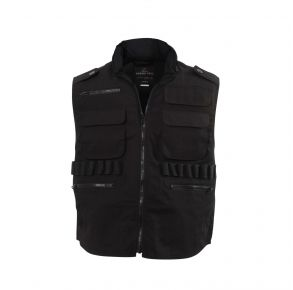 Rothco Mens Ranger Vests - Black - Size 2XL Front View