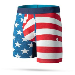 """Stance Mens Boxer Brief - The Fourth St. 6"""" Front View"""