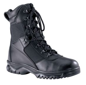 "Rothco Mens 8"" Forced Entry Waterproof Tactical Boot Right Side Angle View"