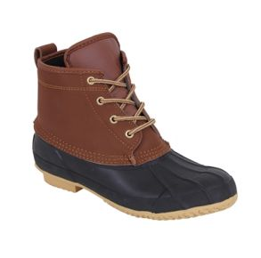 "Rothco Mens 6"" All Weather Duck Boot Right Side Angle View"