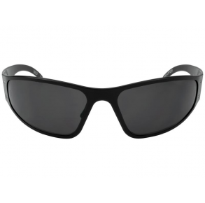 Gatorz Eyewear Wraptor Blackout Patriot Edition Blackout/Smoked Polarized Sunglasses Front View