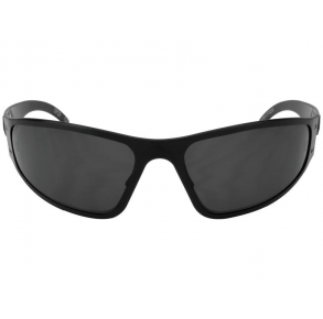 Gatorz Eyewear Wraptor Blackout/Smoked Polarized Sunglasses Front View