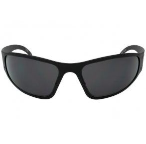 Gatorz Eyewear Wraptor Patriot Edition Black/Smoked Polarized Sunglasses Front View
