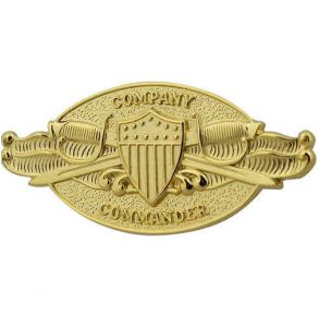 Coast Guard (USCG) Company Commander regulation badge.