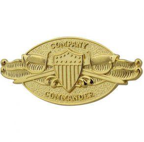 Coast Guard (USCG) Company Commander regulation badge.