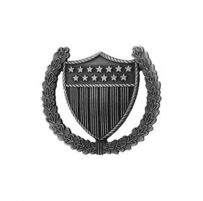 Coast Guard (USCG) Officer in Charge Ashore miniature badge.