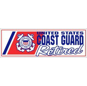"CG ""Retired"" Bumper Sticker"