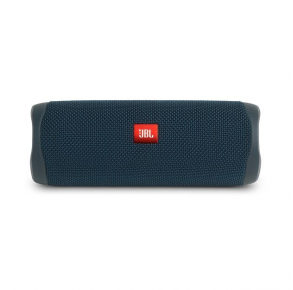 JBL Flip 5 Portable Bluetooth Speaker - Blue Front View